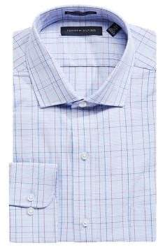 Tommy Hilfiger Regular-Fit Plaid Dress Shirt
