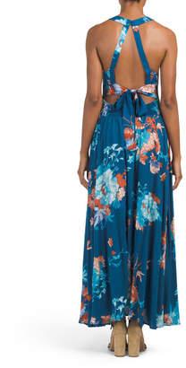 Juniors Australian Brand Halter Neck Dress