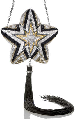 Judith Leiber Couture Star Kaboom Crystal Clutch Bag