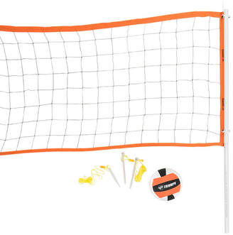 Viva Sol Triumph Advanced Volleyball Set Includes Official Size Volleyball, Carry Bag, and Inflating Pump and Needle