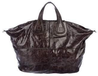 Givenchy Patent Leather Nightingale Tote