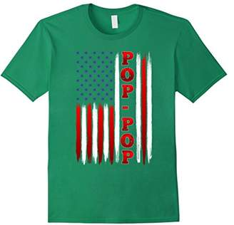 American Flag Patriotic Pop-Pop T Shirt on Christmas