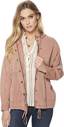 Lucky Brand Women's Full Zip Hooded Jacket