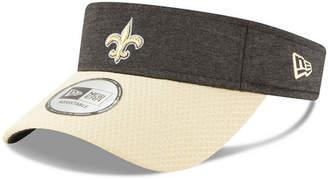 New Era New Orleans Saints On Field Sideline Visor