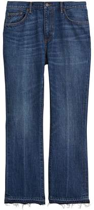 Burberry Slim Fit Bootcut Jeans