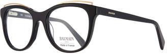 Balmain Modified Cat-Eye Acetate Optical Frames