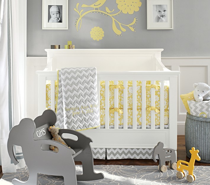 Pottery Barn Kids Georgia Nursery Bedding Set