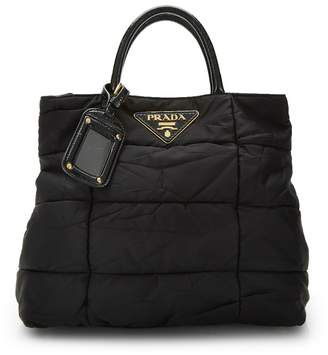 ef24bdd2b815 Prada Nylon Quilted Bag - ShopStyle