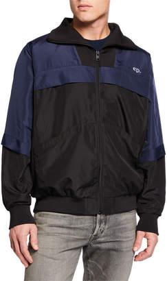 Eleven Paris Men's Colorblock Zip-Front Jacket