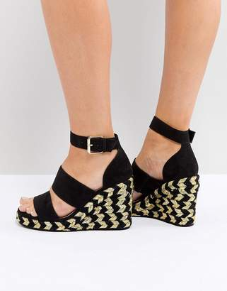 Asos DESIGN TAFFY Espadrille Wedges