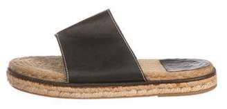 Hermes Jute Platform Sandals