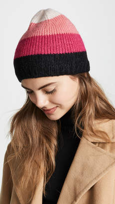 Kate Spade Brushed Colorblock Beanie Hat