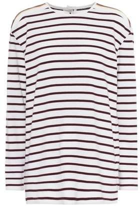 Victoria Beckham Victoria Striped cotton T-shirt