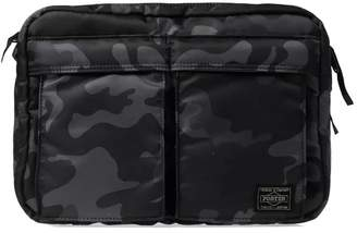 Head Porter Jungle Camo Shoulder Bag