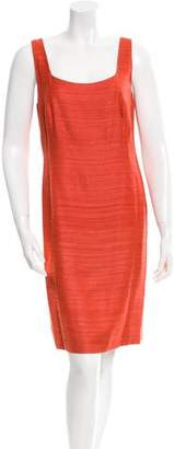 Akris Bouclé Sheath Dress