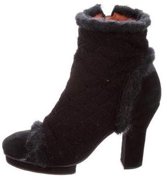 Missoni Platform Ankle Boots