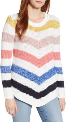 Caslon Stitch Stripe Sweater