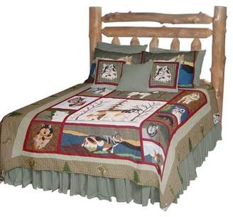 Call Of The Wild Patch Magic QKCALW Call Of The Wild, Quilt King 105 x 95 inch