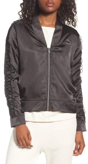 Women's Puma Satin Track Jacket