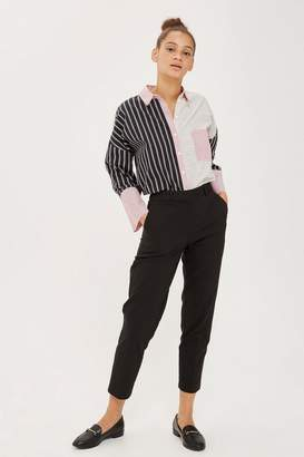 Topshop Slim Tapered Suit Trousers