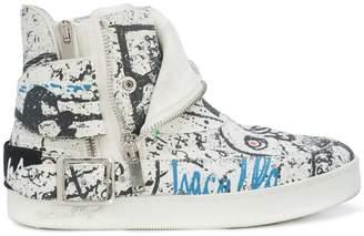 Haculla insanity art sneakers