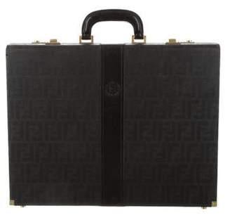 Fendi Vintage Zucca Briefcase
