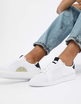 Pull&Bear Knitted Sneaker In White