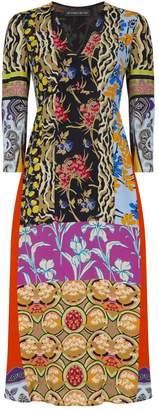 Etro Patchwork Suffolk Dress