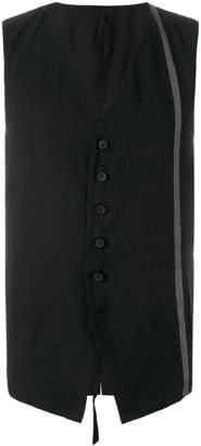 Masnada striped waistcoat
