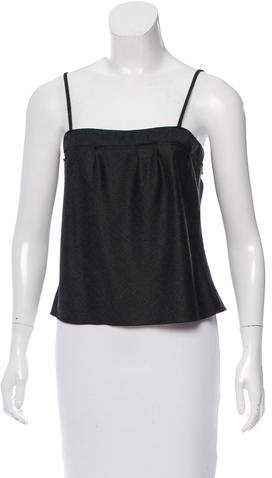 Miu Miu Miu Miu Wool Sleeveless Top