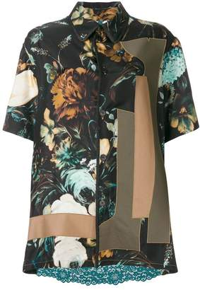 Antonio Marras printed shirt dress
