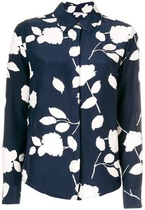 P.A.R.O.S.H. floral print slim fit shirt
