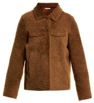 Inès & Marèchal Electre Shearling Jacket - Womens - Brown