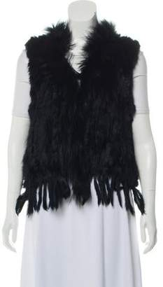 Fur Knitted Fur Vest