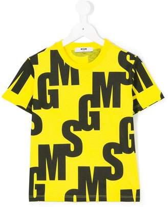 MSGM Kids logo T-shirt