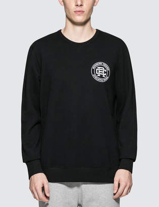 Reigning Champ Mid Weight Terry Crest Logo Crewneck