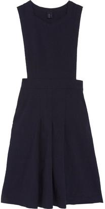Comme des Garçons GIRL - Twill Dress - Navy $725 thestylecure.com