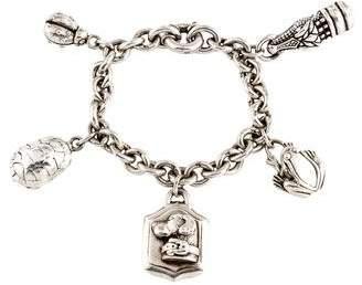 Kieselstein-Cord Multicharm Bracelet