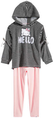 Hello Kitty Toddler Girls 2-Pc. Velour Hoodie & Leggings Set