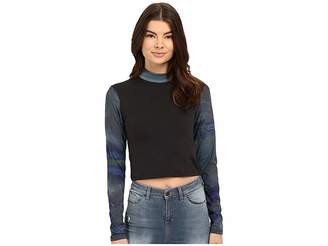 Bench Jess Glynne x Benchtm collaboration- My Long Long Sleeve Top Women's Long Sleeve Pullover