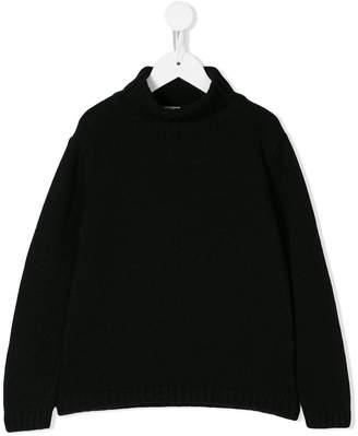 Douuod Kids roll neck sweater