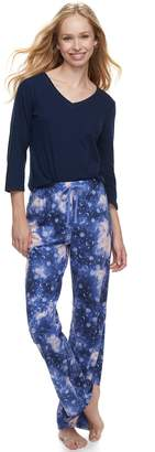 Sonoma Goods For Life Women's SONOMA Goods for Life Basic Tee & Pants Pajama Set