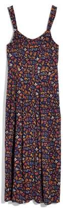 Madewell Tie Strap Midi Dress