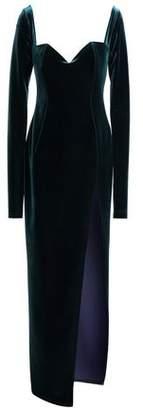 Emilio De La Morena Velvet Gown