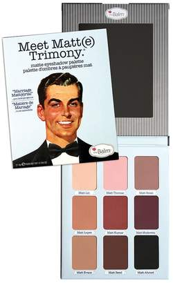 TheBalm Meet Matt(e) Trimony Matte Eyeshadow Palette $42 thestylecure.com