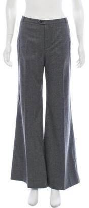 Balenciaga Mid-Rise Wide-Leg Pants