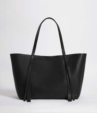 AllSaints Vincent Leather East West Tote
