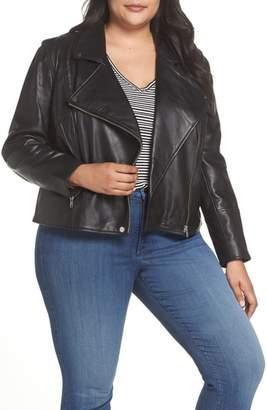 Sejour Leather Moto Jacket