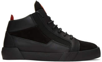 Giuseppe Zanotti Black Foxy High-Top Sneakers
