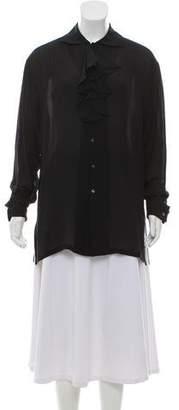 Ralph Lauren Silk Button Up Blouse